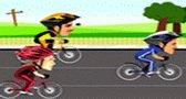 لعبة سباق دراجات هوائية