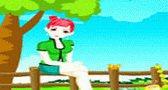 العاب بنات لعبة تلبيس فتاة الحديقة