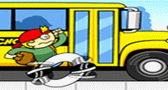 السباق مع الباص لعبة اطفال
