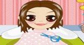 لعبة قص شعر البنات صالون بنات