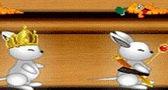 العاب اطفال لعبة الأرانب الجائعه