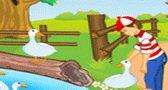 العاب اطفال لعبة المحافظة على البط جديدة