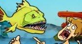 لعبة السمكة الشرسة 5