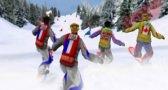 لعبة التزلج الجبلي